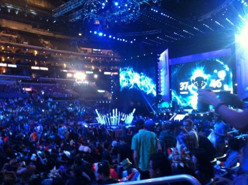 A picture I took from the League of Legends Season 3 World Championships