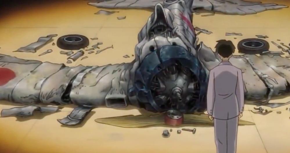 ruined plane